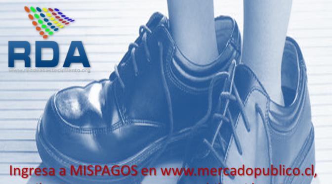 """Campaña Apoyo Pago Oportuno """"Ponte en Los Zapatos del Otro""""."""